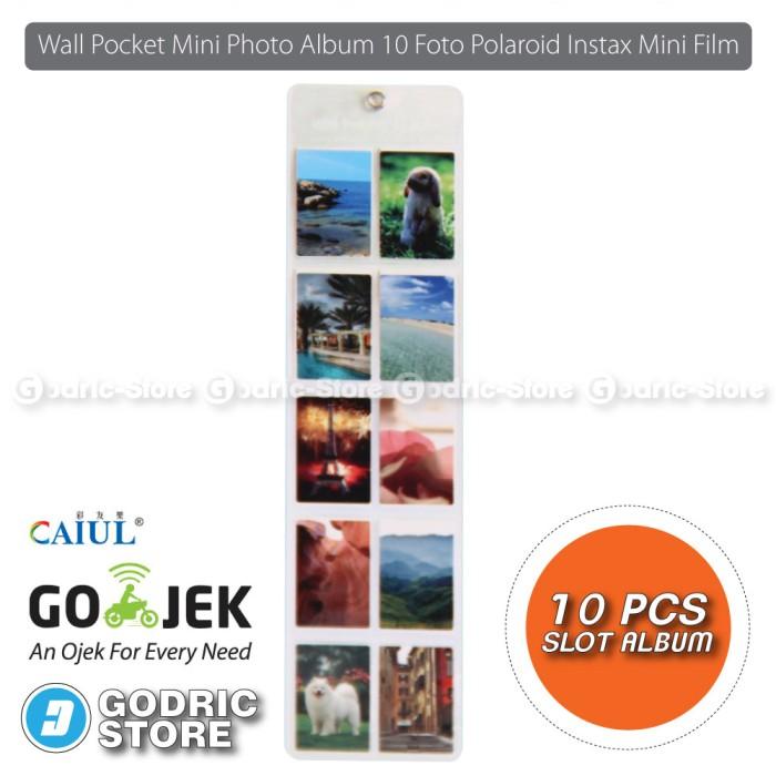 harga Wall pocket mini photo album 10 foto polaroid instax 8/9/90/ sp2 etc Tokopedia.com