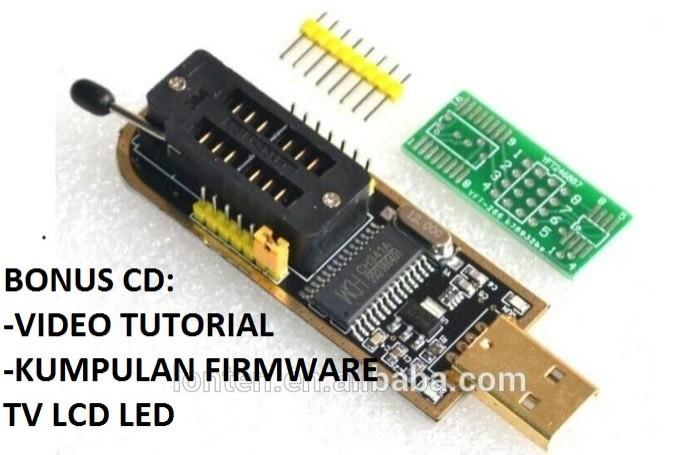 harga Alat Copy Eprom Ch341 Programmer Plus Kumpulan Firmware Tv Tokopedia.com