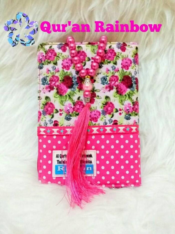 Jual New Al Quran Rainbow Raihan Dan Tasbih Cantik Kota Surabaya Atha Shop Rainbow Tokopedia
