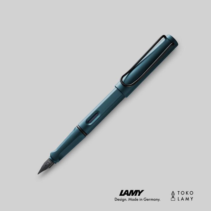 harga Fountain Pen Lamy Safari Petrol, Medium (m) (special Edition 2017) Tokopedia.com
