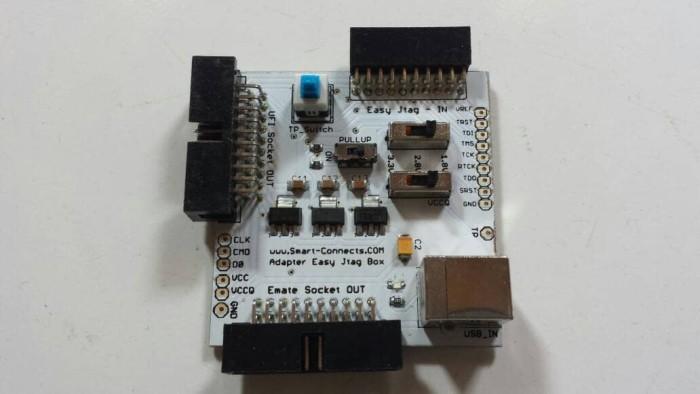 Jual Adapter Z3X Easy JTAG Box Direct ISP Emmc & utk Panda Emate UFI Socket  - Kota Bekasi - smart connect | Tokopedia