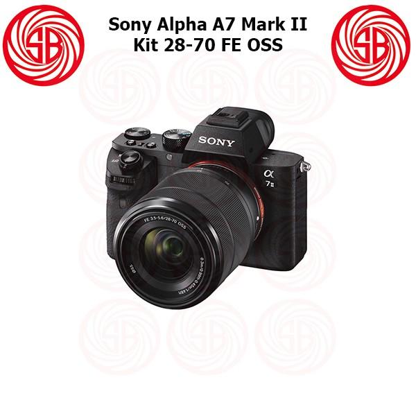 Kamera sony alpha 7 ii + 28-70mm ; mirrorless ilce-7m2 ; a7 mark 2 kit