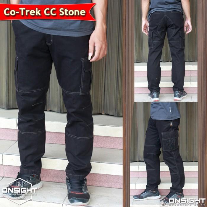 Celana Panjang Cargo Cotrek Kanvas, Celana Gunung Cotrk, Celana Lapang