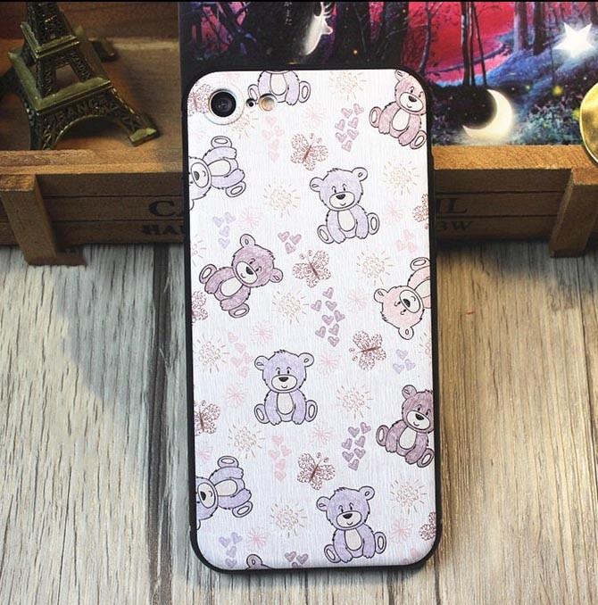 harga Casing iphone 7 tpu softcase - teddy bear Tokopedia.com