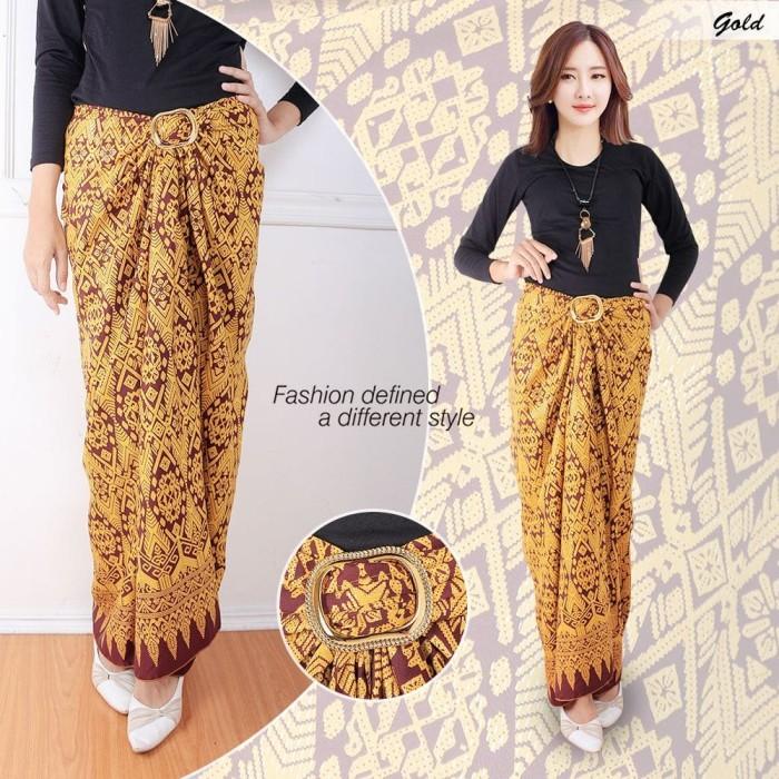 Jual Rok Lilit motif batik jawa - grosir busana dan eceran  339778191f