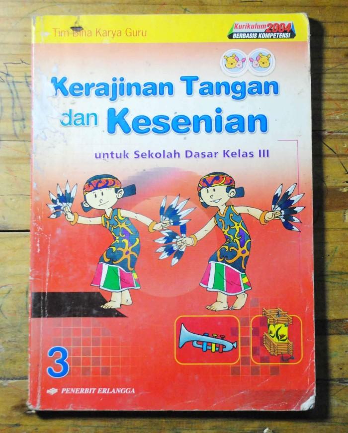 Jual Kerajinan Tangan Dan Kesenian Kelas 3 Sd Erlangga Kota Tangerang Pasar Buku Mrh Tokopedia