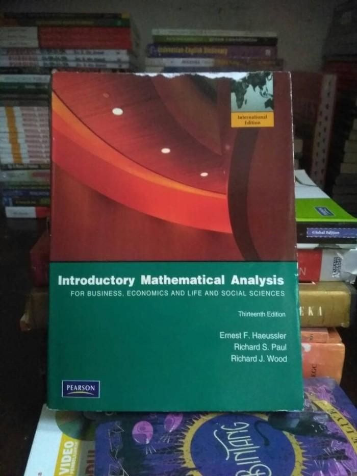 harga Introductory mathematical analysis Tokopedia.com