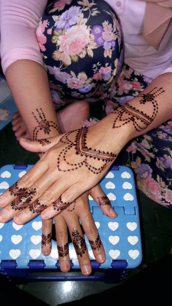 Jual Henna Fun Wedding Kota Tangerang Selatan Henna Art By Fiki Tokopedia