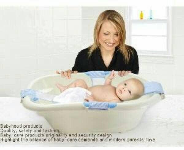 BABY BATH HELPER / Alat Bantu Mandi Bayi Anti Slip