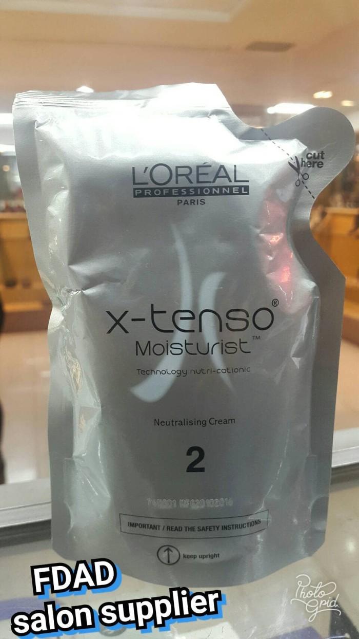 Harga Loreal X Tenso Moisturist Resistant Hair Xtenso Smoothing Cream 400gr Set 125ml