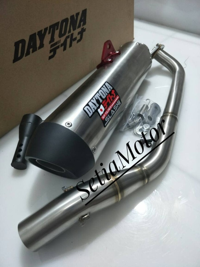 Foto Produk Yamaha Aerox - Nmax 155cc - Knalpot Daytona Original Bonus DB Killer dari setia motor variasi