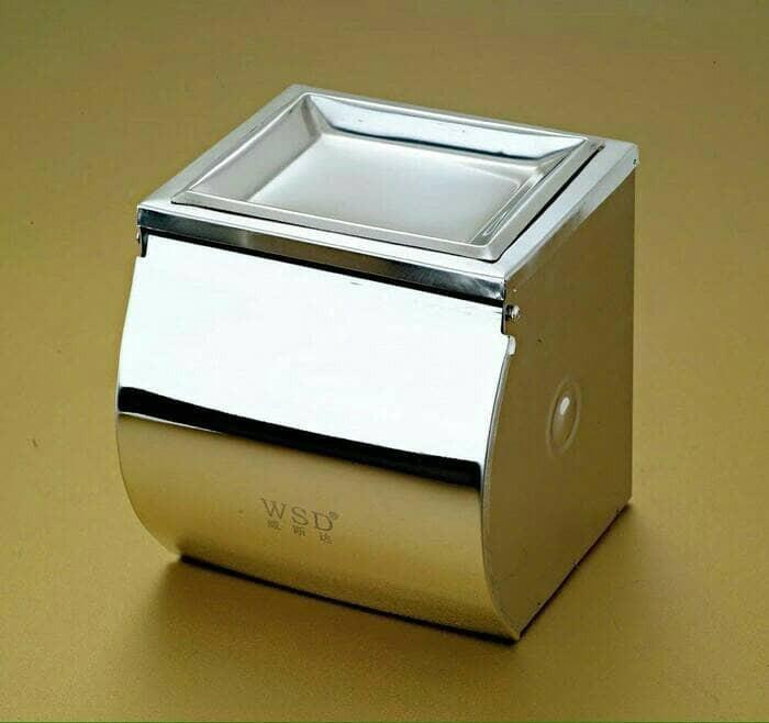 harga Tempat tissue/ kotak tisu gulung/ kotak tisu toilet/ tempat tissue gul Tokopedia