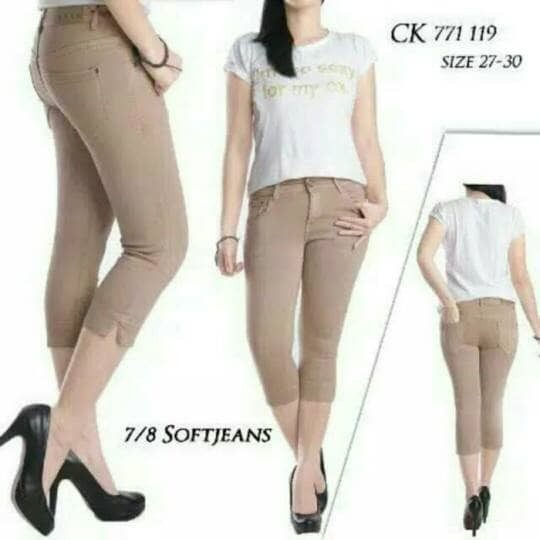 Celana jeans 7/8 ck 717 317/318