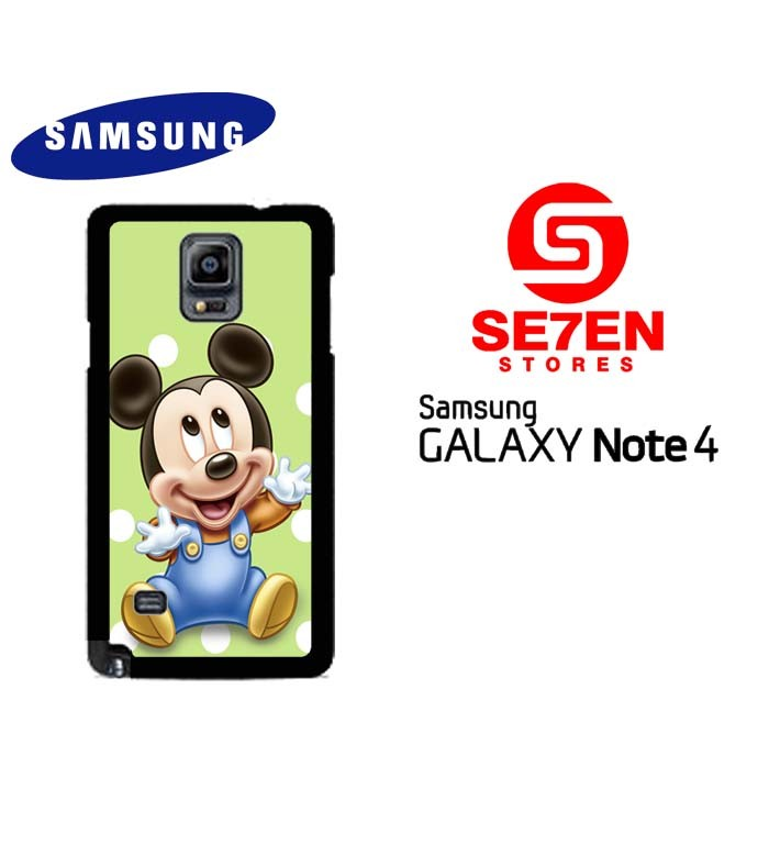 harga Casing samsung galaxy note 4 mickey mouse images custom hardcase co Tokopedia.com
