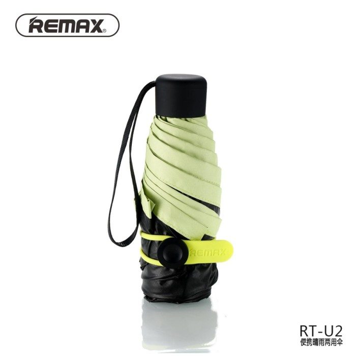 harga Remax Payung Lipat Mini Portable - Rt-u2 - Hijau Tokopedia.com