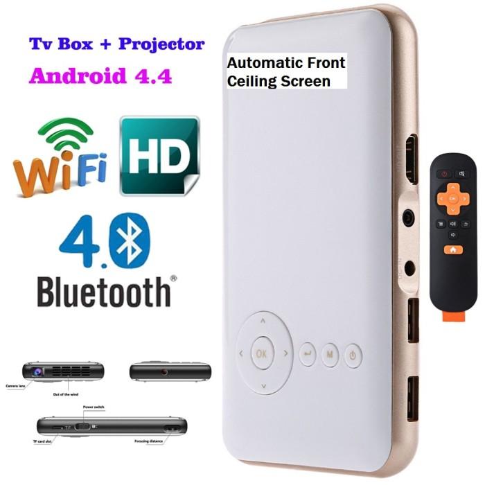 harga Mini go android pocket pico dlp projector md50s super canggih Tokopedia.com