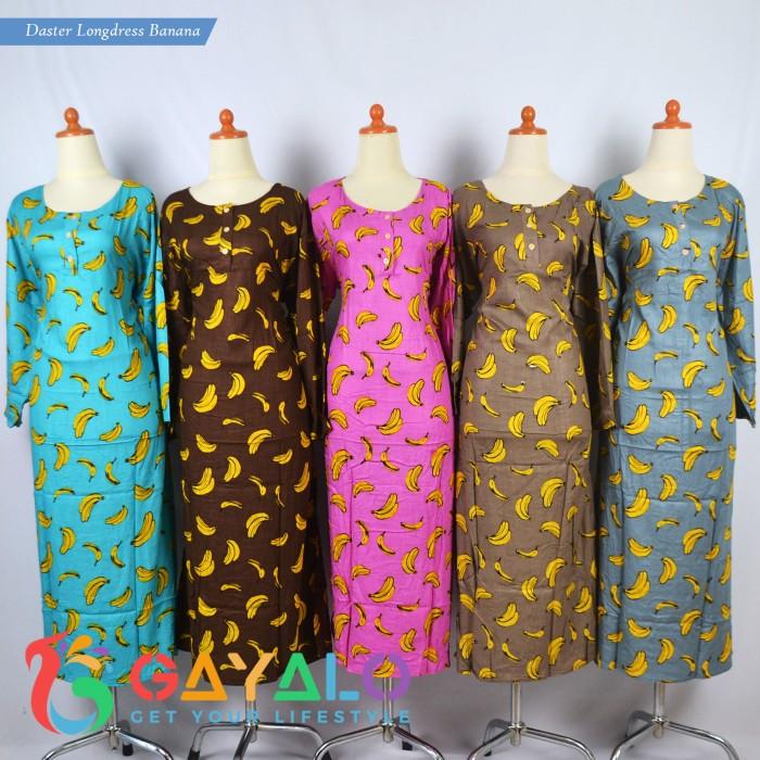 harga Longdress midi banana/daster panjang/baju tidur/daster longdress Tokopedia.com