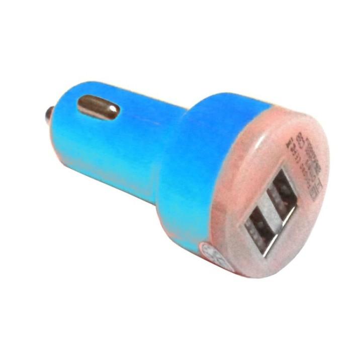 Mediatech car charger mcc 02 biru ( 66909-biru )