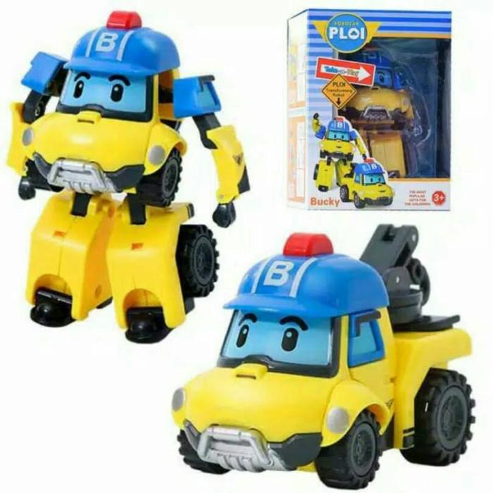 ROBOCAR POLI TRANSFORMING ROBOT BUCKY .