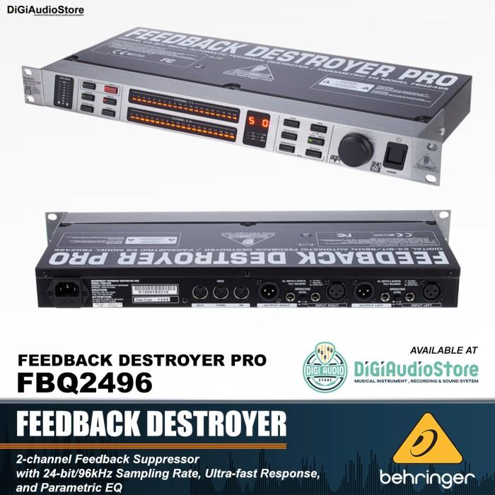 harga Behringer fbq2496 [ fbq 2496 ] feedback destroyer pro Tokopedia.com