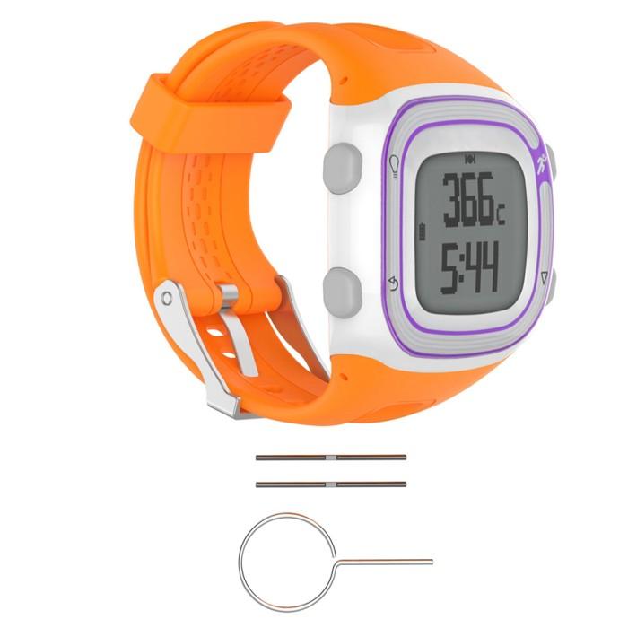 harga Garmin forerunner 10 15 - strap band tali jam - orange size small Tokopedia.com