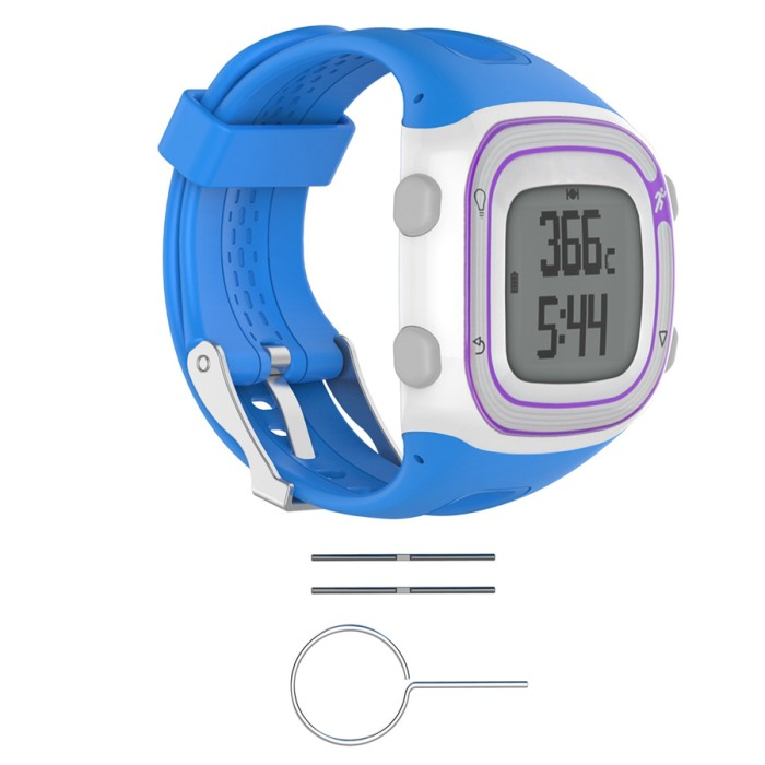 harga Garmin forerunner 10 15 - strap band tali jam - blue size small Tokopedia.com