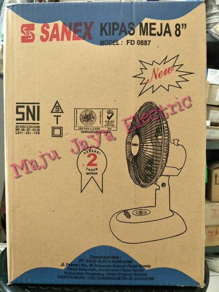 ... harga Kipas angin meja 8 / desk fan sanex fd 0887 8 inch inci fd0887 887