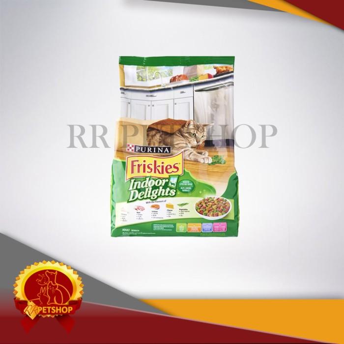 harga Makanan Kucing Dewasa Untuk Hairball & Berat Badan - Friskies Indoor Tokopedia.com