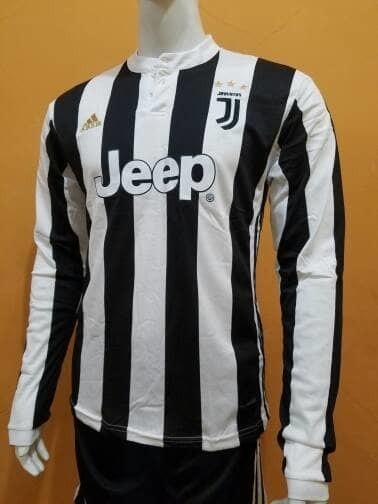 info for 80df4 918ff Jual Jersey Juventus Juve Home Longsleeve LS 2017/2018 Grade Ori TopQuality  - DKI Jakarta - premiersoccerjersey   Tokopedia
