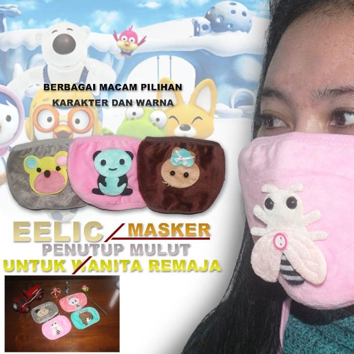 EELIC MAR-MASKER GIRL Masker Penutup Mulut Lucu Berkarakter