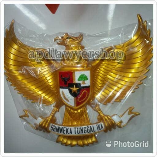harga Patung pajangan burung garuda 50cm x 50cm fiber plat kuningan emas ok Tokopedia.com