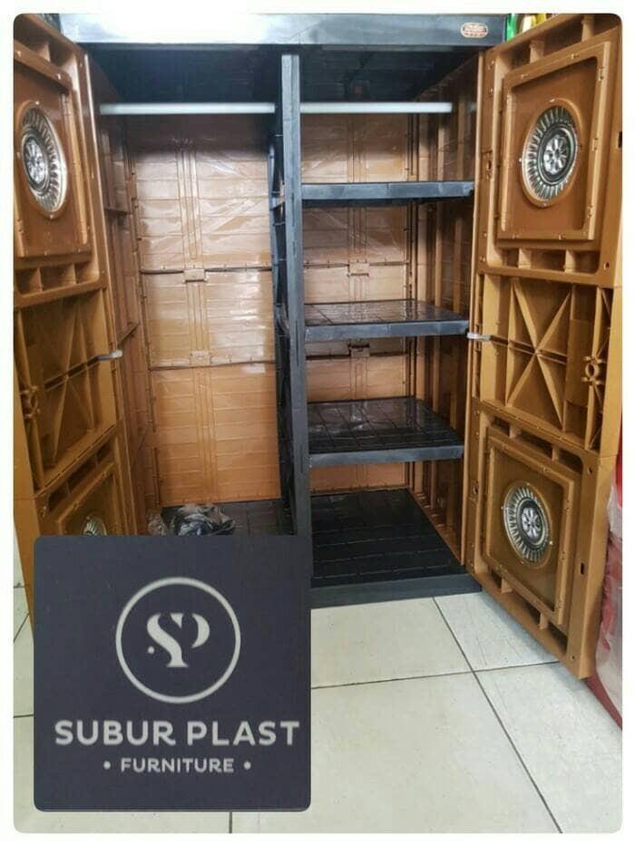 harga Lemari plastik lemari pakaian naiba batik emas gantung murah Tokopedia.com