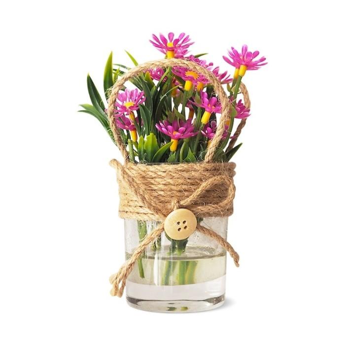 harga Paupau Pink |vas Pot Kaca Bunga Tanaman Plastik Artificial Hiasan Unik Tokopedia.com