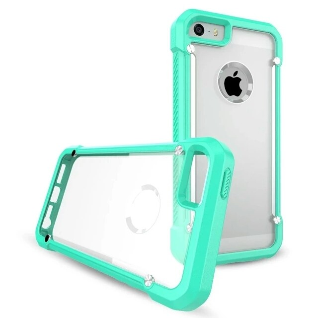 Shockproof Rugged Armor Hybrid Case Transparan TPU for Iphone 6 PLUS