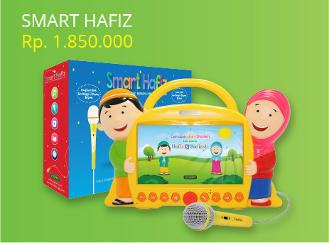 harga [free screen protector] smart hafiz + usb 16gb Tokopedia.com