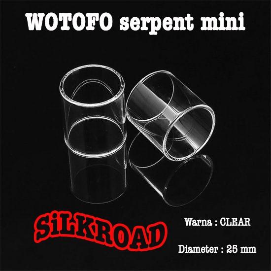 Foto Produk WOTOFO Serpent Mini 25 Kaca, PYREX GLASS Vapor dari silk road