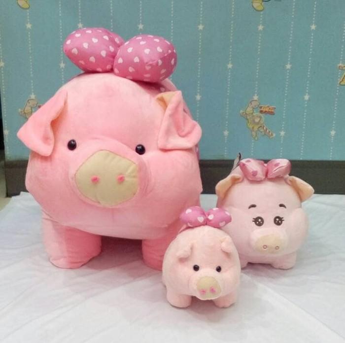 Foto Produk Boneka Babi Gemuk Baring Cute Jumbo dari melonshops