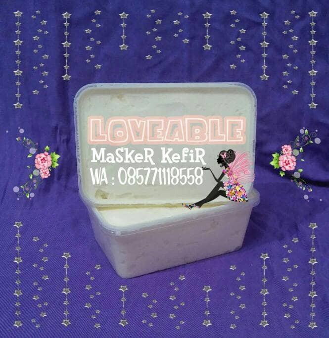 harga Masker kefir susu sapi 100% murni 200gr Tokopedia.com