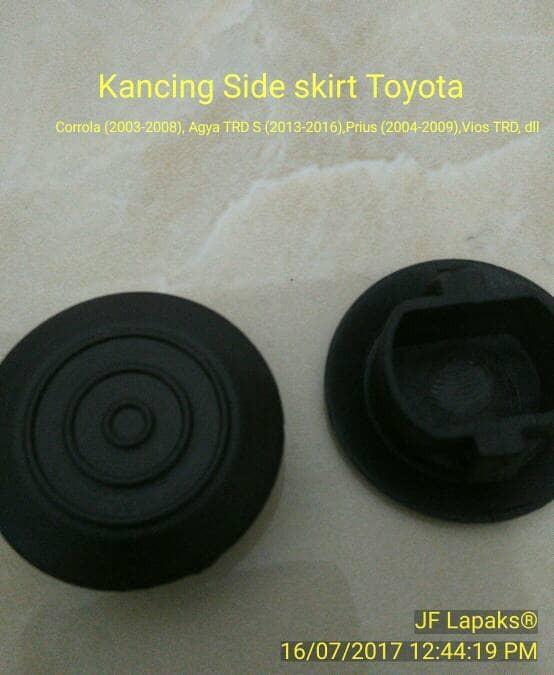 Kancing/Klip Body kit Samping Bawah/Side Skirt Toyota TRD
