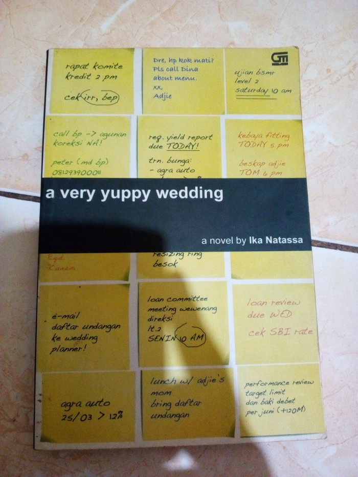 Katalog A Very Yuppy Wedding Travelbon.com