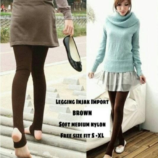 Jual Celana Wanit Legging Injak Brown Jakarta Pusat Princess Van Shop Tokopedia