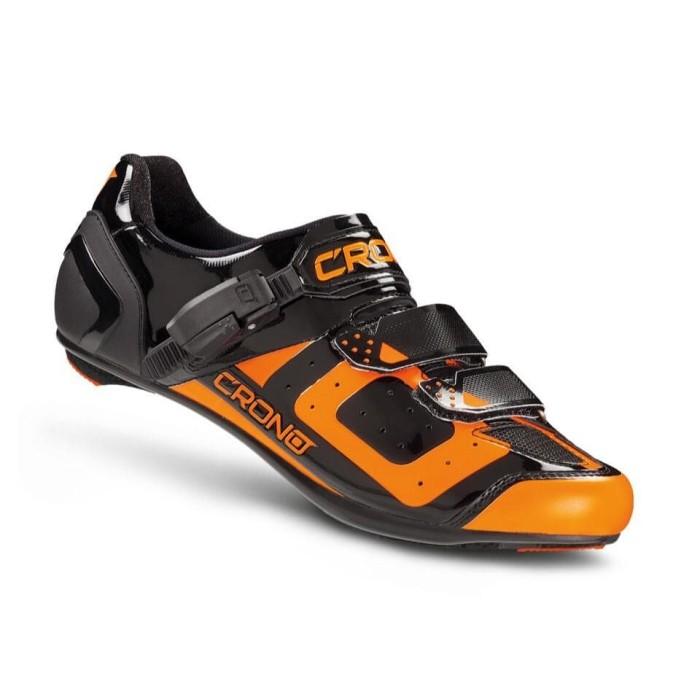 harga Sepatu sepeda balap cr3 road - orange Tokopedia.com