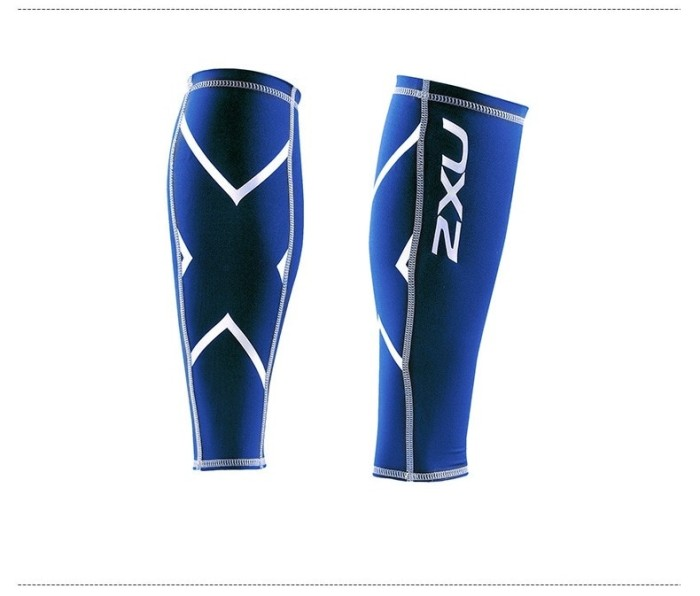 harga 2xu Calf Betis Sleeve Compression Leg Warmer Blue - L Tokopedia.com