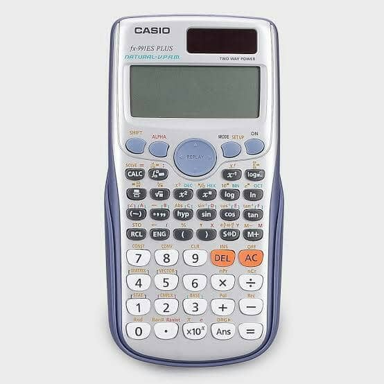 how to change comma to dot on casio scientific calculator