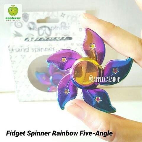Fidget Spinner Rainbow Five-Angle