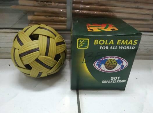 harga Bola sepak takraw bola mas 501 Tokopedia.com