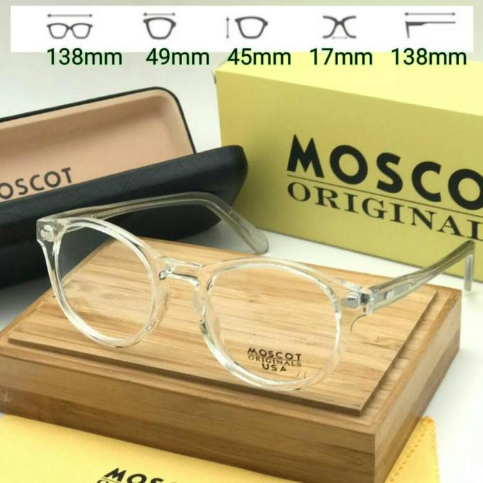 Jual Kacamata Moscot Miltzen Usa Transparan Frame Kacamata Minus ... 57594f38f2