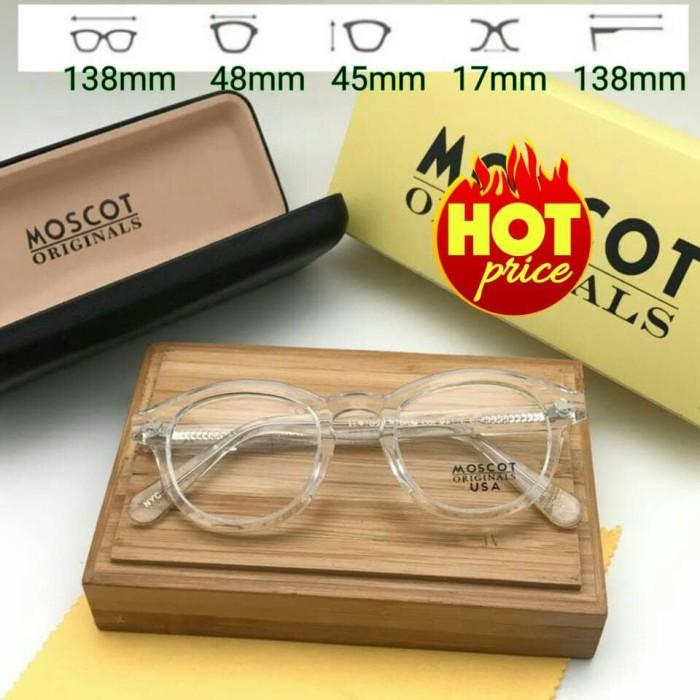 Jual Frame Kacamata Moscot Lemtosh Transparan Glossy  4d21fd4501