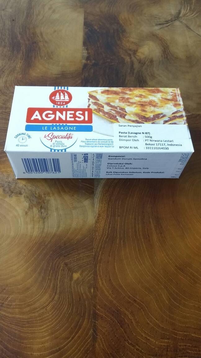 harga Lasagna agnesi Tokopedia.com