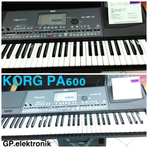 harga Keyboard korg pa600(garansi resmi 1 tahun) Tokopedia.com